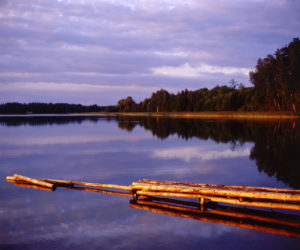 Poland. Suwalski region. Zelwa Lake